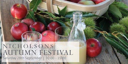 Nicholsons Autumn Festival