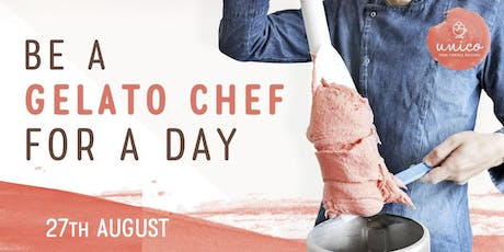 Be a Gelato Chef for a Day (27th August) tickets