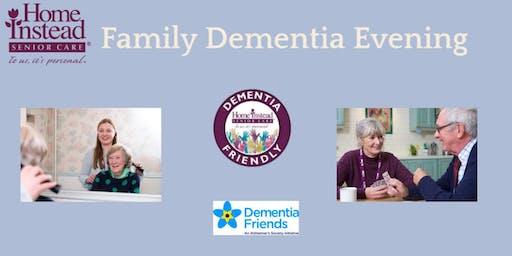 Dementia Family Workshop