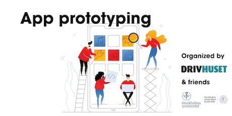 App prototyping (Stockholm University) tickets