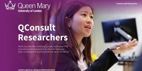 Application Workshop for QConsult Researchers tickets