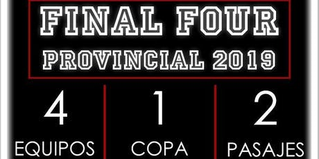Final Four Provincial 2019 entradas