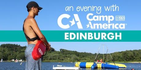 Camp America - 'An evening with Edinburgh'  tickets