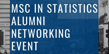 MSc in Statistics Alumni Networking Event  tickets
