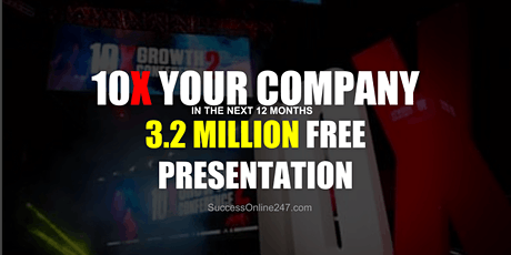 10X Your Company In The Next 12 Months - Oslo tickets