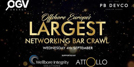 Offshore Europe's Largest Networking Event tickets