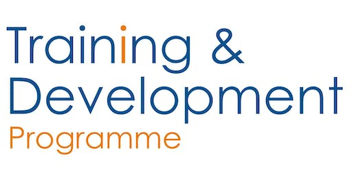 Training & Development: Chairing Skills