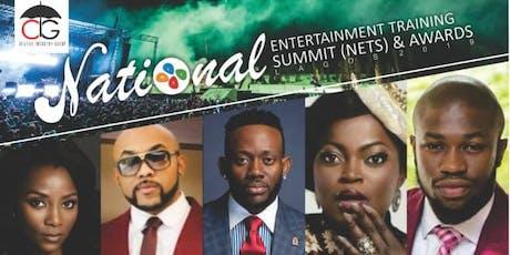 NATIONAL ENTERTAINMENT TRAINING SUMMIT & AWARDS biglietti