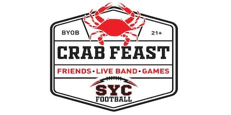 Crab Feast - SYC Football tickets