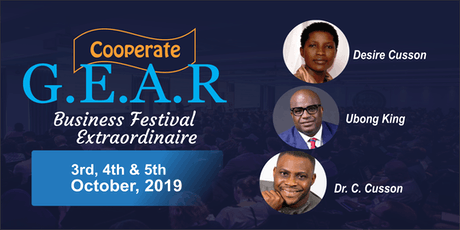 Cooperate G.E.A.R  Business Festival Extraordinaire tickets