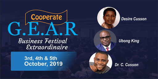 Cooperate G.E.A.R  Business Festival Extraordinaire