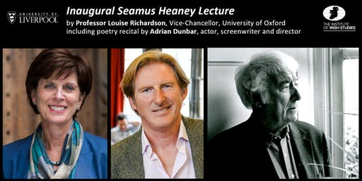 Inaugural: The Annual Seamus Heaney Lecture 2019