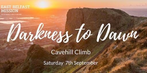 East Belfast Mission Darkness to Dawn Cavehill Climb