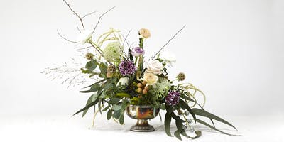Floral Centrepiece workshop - learn how to make a beautiful arrangement