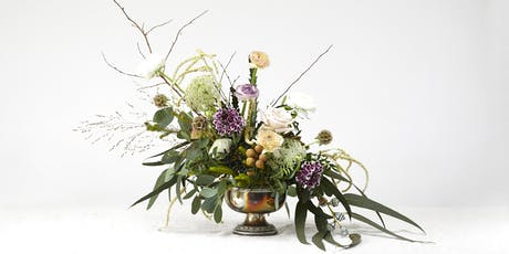 Floral Centrepiece workshop - learn how to make a beautiful arrangement tickets
