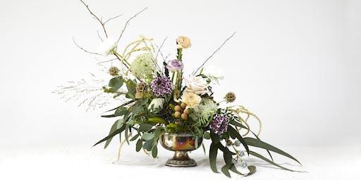 Floral Centrepiece workshop - how to make a beautiful arrangement