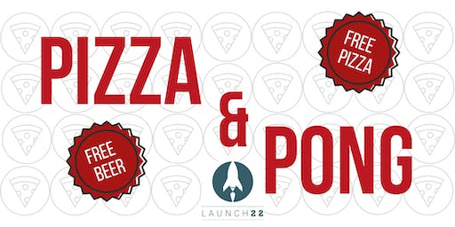 Pizza and Pong Networking