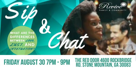 Sip & Chat - Creating a workable definition of love tickets
