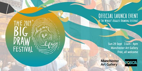 The Big Draw Festival 2019: Official Launch Event! tickets