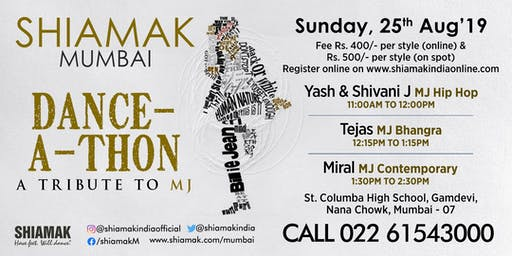 Shiamak's Dance-A-Thon in your city: Mumbai