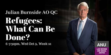 Julian Burnside- Refugees: What can be done? tickets