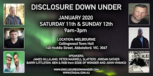 "DISCLOSURE DOWN UNDER 2020 MELBOURNE 2 DAY PASS ""11th & 12th  JANUARY 2020"""