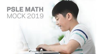 PSLE Math Mock Exam tickets
