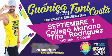 Pin Your Movements Zumba Tour// Guánica entradas
