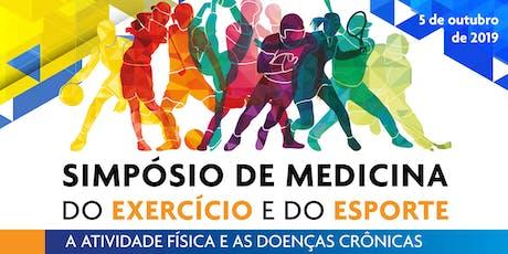 Simpósio de Medicina do Exercício e do Esporte - com Webtransmissão - 05/10 tickets