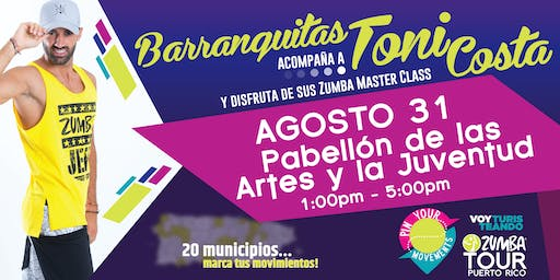 Pin Your Movements Zumba Tour// Barranquitas