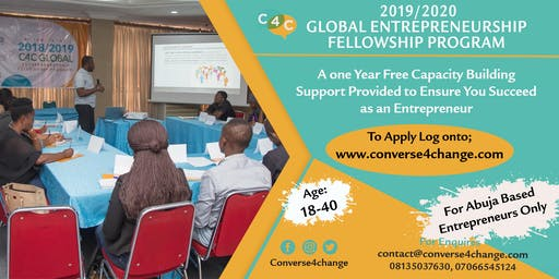 2019/2020 C4C Global Entrepreneurship Fellowship Program