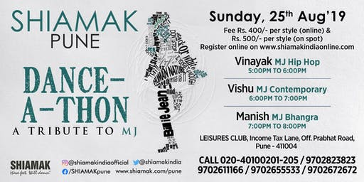 Shiamak's Dance-A-Thon in your city: Pune