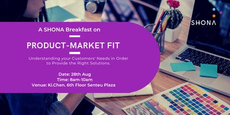 SHONA Breakfast Work Session on Product - Market Fit tickets