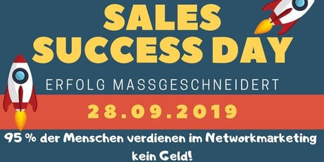 Sales Success Day Tickets