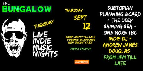 Thursday Live Indie Music Night's tickets