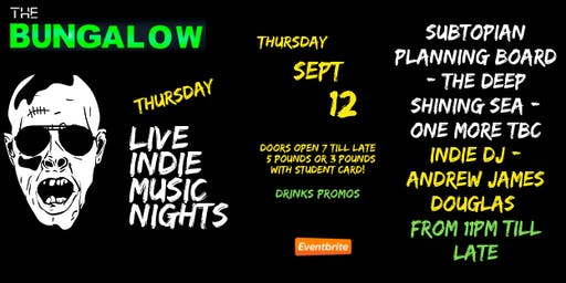 Thursday Live Indie Music Night's