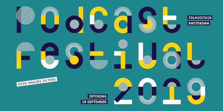 Podcastfestival Workshop ronde 1 - Editen met Hindenburg tickets