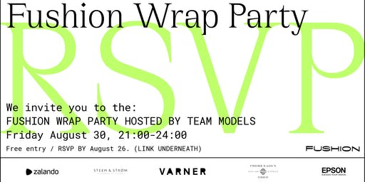 Wrap Party hosted by Team Models at Fushion Festival