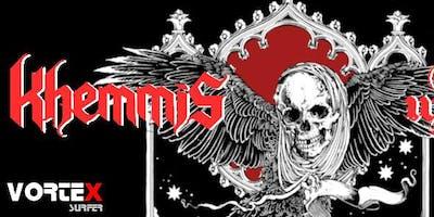 KHEMMiS (usa/NuclearBlast) + Iron Walrus