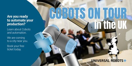 Cobots on Tour 2019 | Bristol tickets
