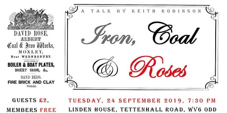 Iron, Coal & Roses! tickets