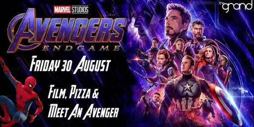 Avengers: Endgame + Meet an Avenger + Pizza Cafe