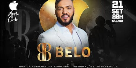 Belo ao vivo - Apple Club tickets