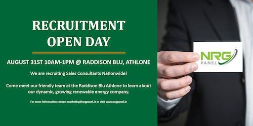 NRG Panel Recruitment Open Day