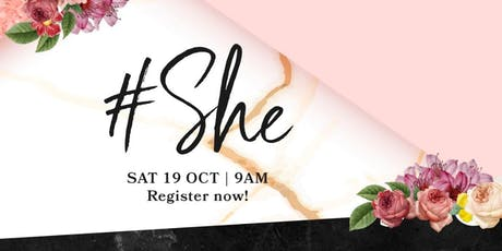 #She 2019 tickets