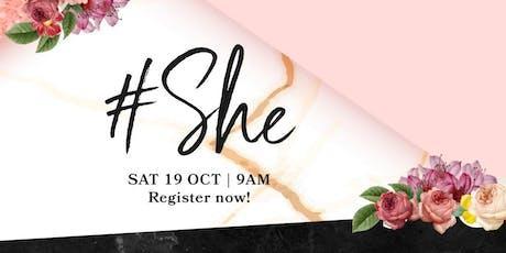 #She 2019 tickets