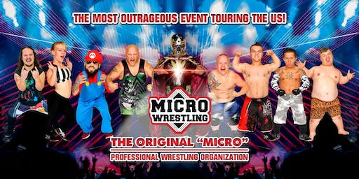 18 & Up Micro Wrestling at Club Skye in Ybor City!