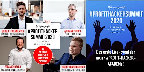 #PROFITHACKERSUMMIT2020 Tickets
