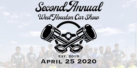 Vendor Registration - 2020 West Houston Car Show tickets