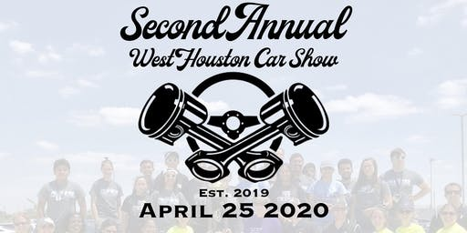 Vendor Registration - 2020 West Houston Car Show
